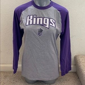 Sacramento Kings ADIDAS long sleeve top size M